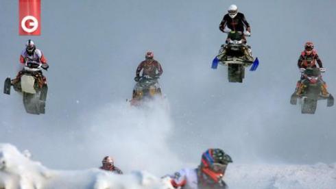 Чемпионат мира по кроссу на снегоходах FIM 2012