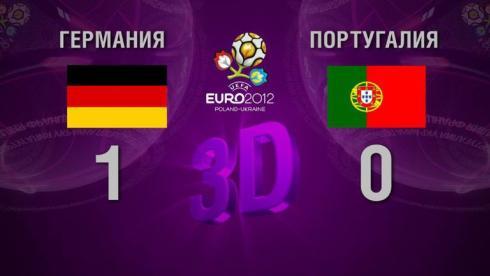 3D-голы. Германия - Португалия