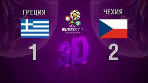 3D-голы. Греция - Чехия