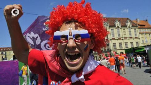Польские фанаты напали на россиян