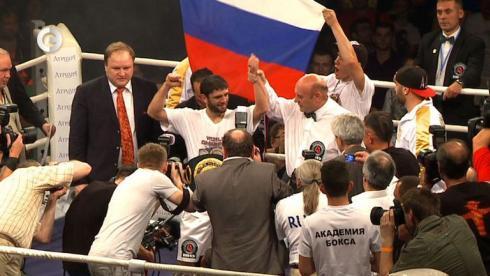 Аллахвердиев завоевал титул IBO