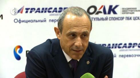 ЦСКА представил Мессину