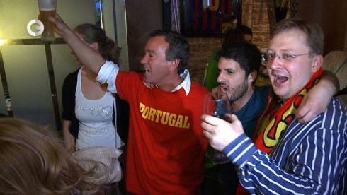 БОЛЬНЫЕ ФУТБОЛОМ: Португалия против Испании