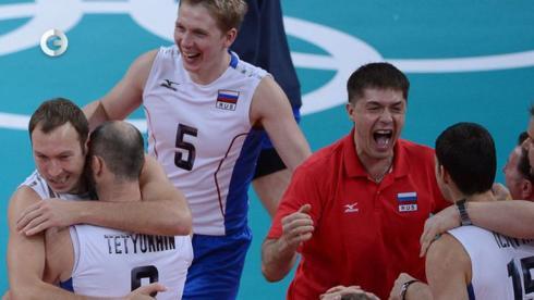 Волейболисты идут к золоту