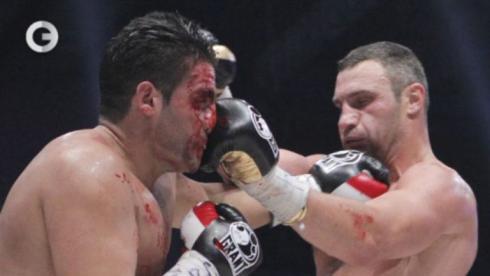 Кровавая победа Кличко