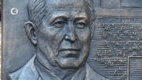 Открытие мемориальной доски Якушина