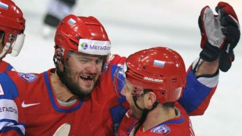 Сборная России по хоккею перед четвертьфиналом