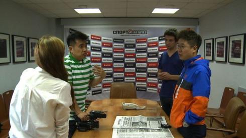Корейские журналисты в гостях у