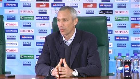 Олег Протасов. Пресс-конференция после матча