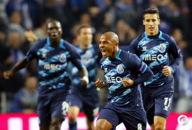 Порту вышел в 1/4 финала