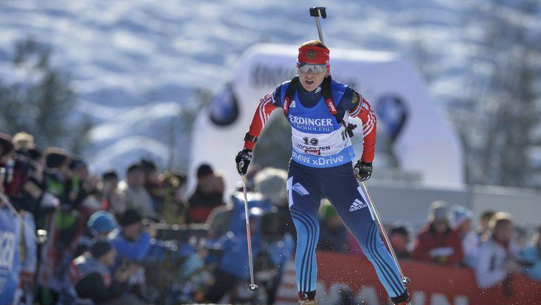 Екатерина ГЛАЗЫРИНА - главная надежда женской сборной России в спринтерской гонке. Фото AFP