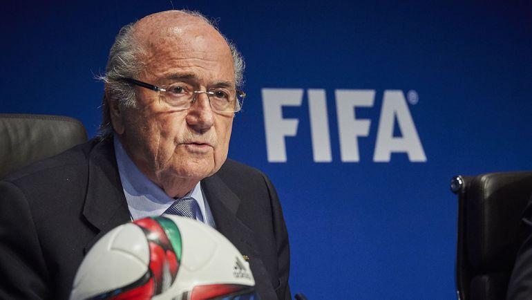 Президент ФИФА Йозеф БЛАТТЕР. Фото AFP