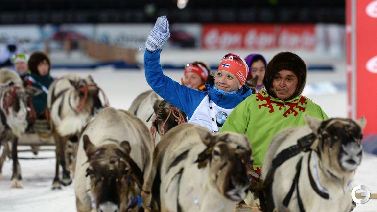 Мякяряйнен выиграла спринт в Ханты-Мансийске
