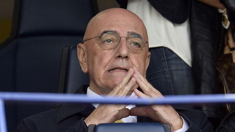 """Вице-президент """"Милана"""" Адриано ГАЛЛИАНИ. Фото AFP"""
