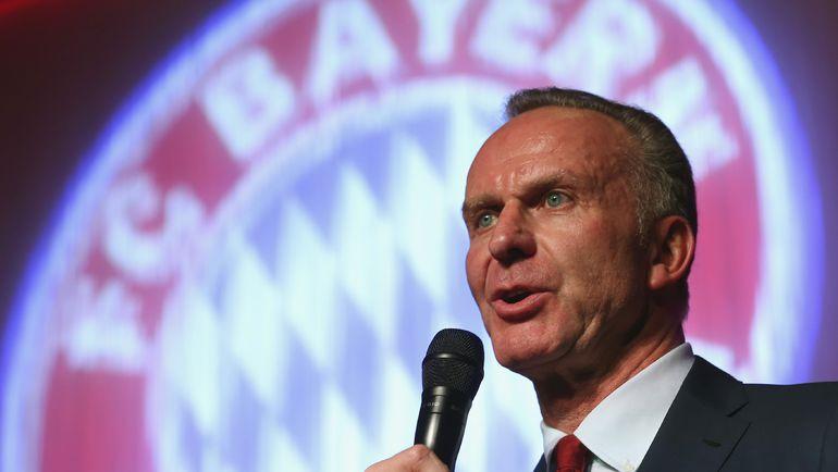 """Президент """"Баварии"""" Карл-Хайнц РУММЕНИГГЕ. Фото Reuters"""