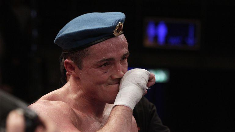 Чемпион мира по версии WBA в весовой категории до 90,71 кг Денис ЛЕБЕДЕВ. Фото Reuters