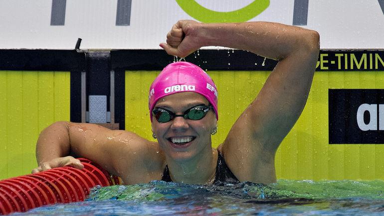 Российская пловчиха Юлия ЕФИМОВА. Фото AFP