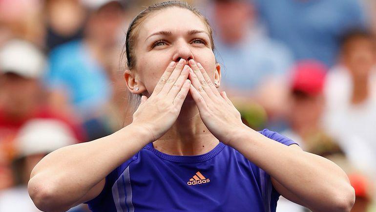 Румынская теннисистка Симона ХАЛЕП. Фото AFP