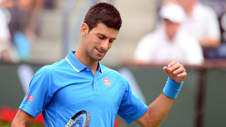 Сербский теннисист Новак ДЖОКОВИЧ. Фото AFP