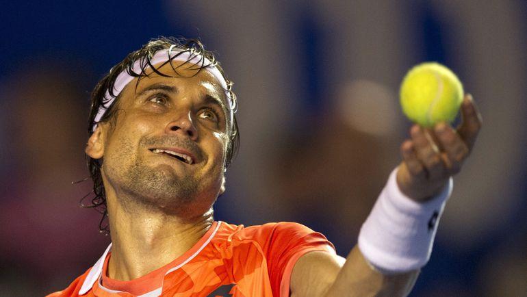 Испанский теннисист Давид ФЕРРЕР. Фото AFP