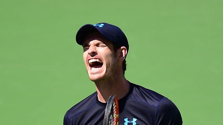 Британский теннисист Энди МАРРЕЙ. Фото AFP