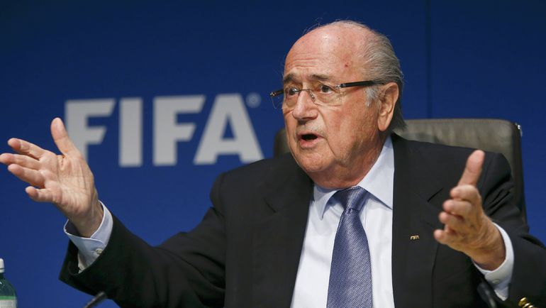 Президент ФИФА Йозеф БЛАТТЕР. Фото Reuters