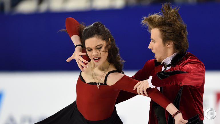Ильиных/Жиганшин - лучшая российская танцевальная пара после короткой программы в Шанхае