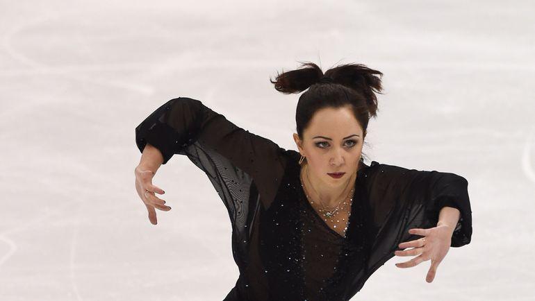 Российская фигуристка Елизавета ТУКТАМЫШЕВА. Фото AFP
