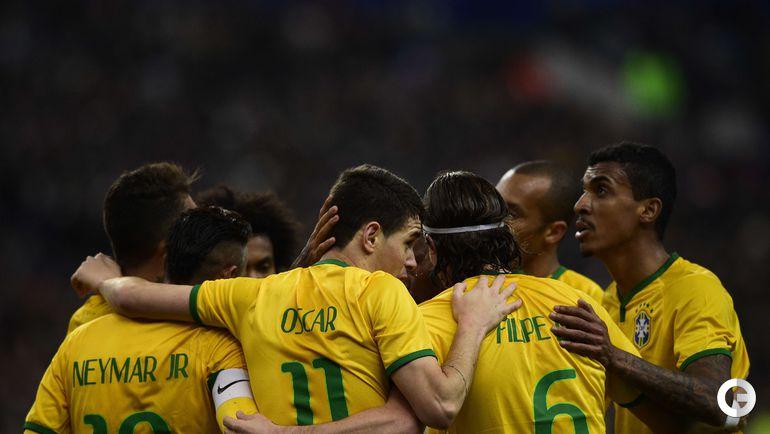 Бразилия взяла реванш на чужом поле