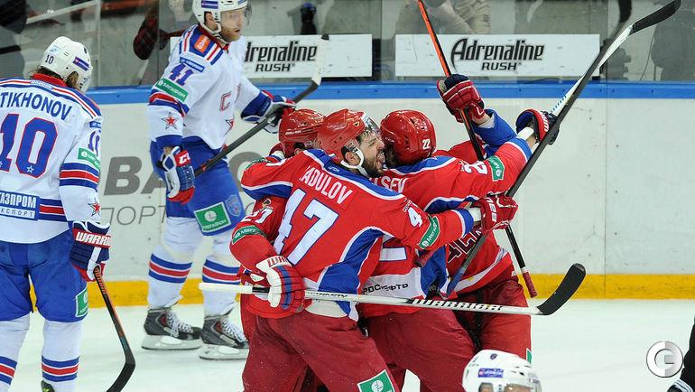ЦСКА удвоил преимущество в серии со СКА