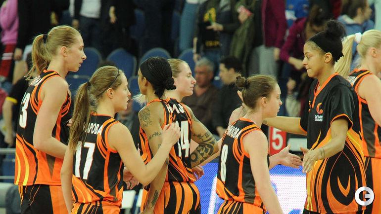 В Видном увидели звезд женского баскетбола