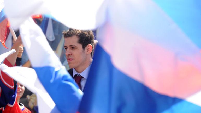 В Северной Америке не рады, что Евгений МАЛКИН хочет сыграть на ЧМ-2015. Фото Reuters