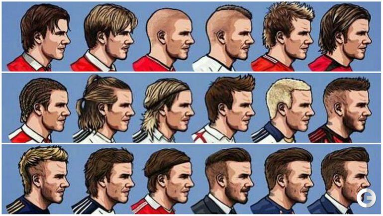 Прически английских футболистов фото