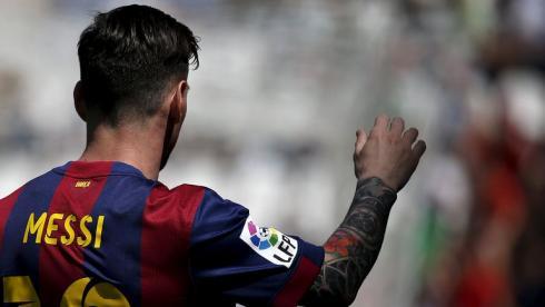 Новая татуировка Месси и 8 мячей в ворота