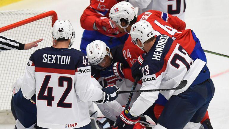 Сборная США станет первой серьезной проверкой для российских хоккеистов на ЧМ-2015. Фото AFP