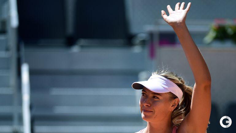 Шарапова вышла в третий круг турнира в Мадриде