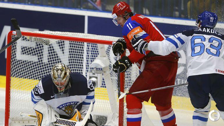 Россия проиграла финнам по буллитам и вышла на Швецию