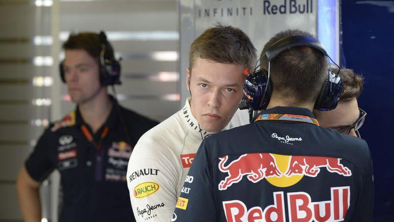 """""""Ред Булл"""", за который выступает Даниил КВЯТ, может уйти из """"Формулы-1"""". Фото AFP"""