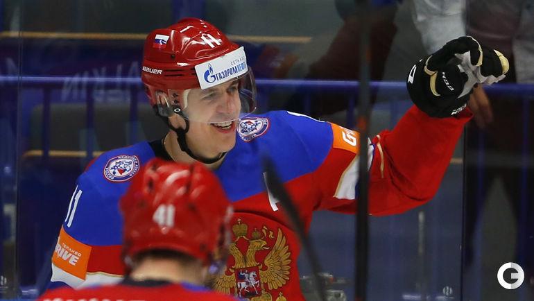 Дубль Малкина выводит Россию в полуфинал ЧМ-2015