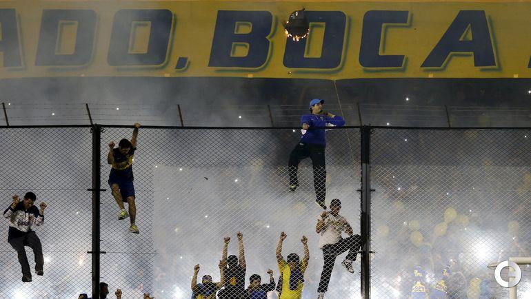 Матч Кубка Либертадорес прерван из-за беспорядков