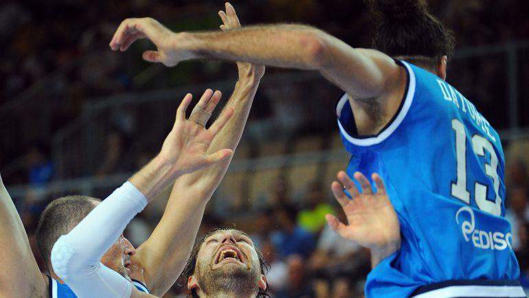 В 2013 году мужской баскетбольной сборной России повезло: провальные для нее чемпионат Европы выпал на год олимпийского отбора. В 2015 году права на ошибку уже не будет. Фото AFP
