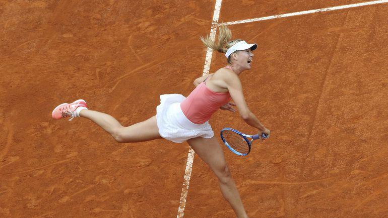 Сегодня. Рим. Мария ШАРАПОВА в полуфинале против Дарьи Гавриловой. Фото REUTERS
