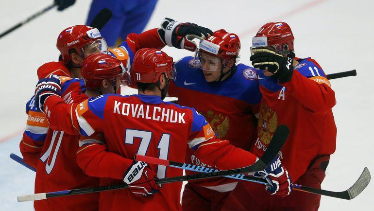 Сегодня в Праге будет война между Россией и Канадой. Фото REUTERS
