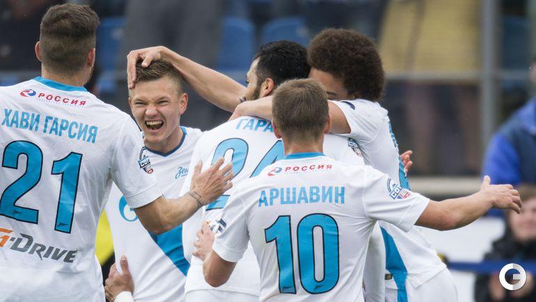 """""""Зенит"""" - чемпион России сезона-2014/15."""