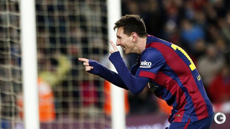 """14-й тур. """"Барселона"""" - """"Эспаньол"""" - 5:1."""