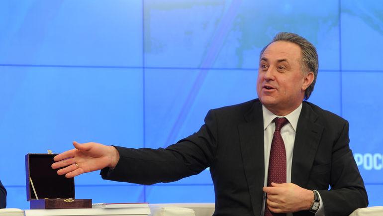 Министр спорта РФ Виталий МУТКО. Фото Федор УСПЕНСКИЙ, «СЭ»