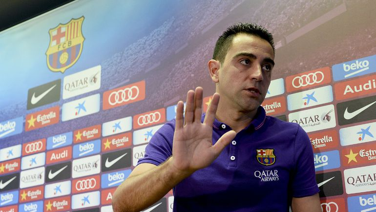 ХАВИ прощается с каталонским клубом.