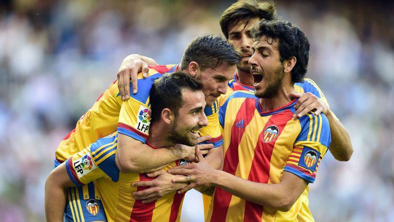 """""""Валенсия"""" - в шаге от выхода в Лигу чемпионов. Фото AFP"""