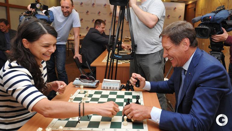 Александра Костенюк и Александр Жуков.