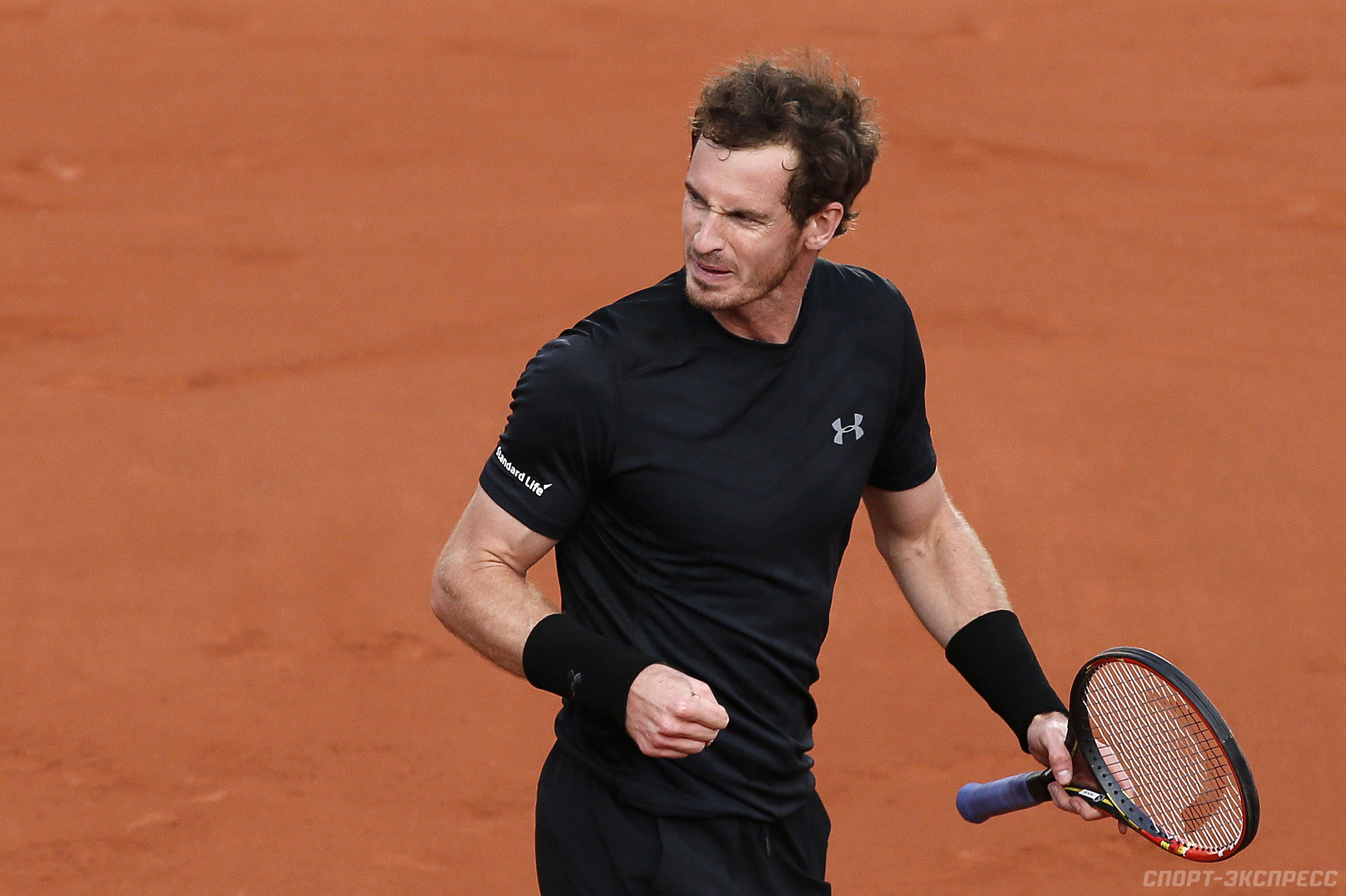 Маррэй вышел во второй круг Roland Garros. Теннис -